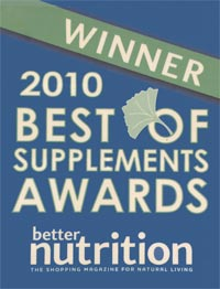 Natrol Better Nutrition's Best of Supplements 2010