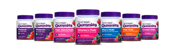 Natrol launches new line of gummy vitamins and supplements