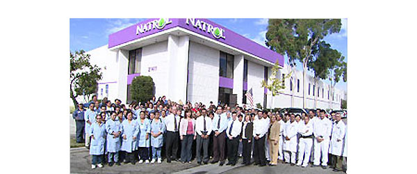 Natrol new manufacturing facility 1997